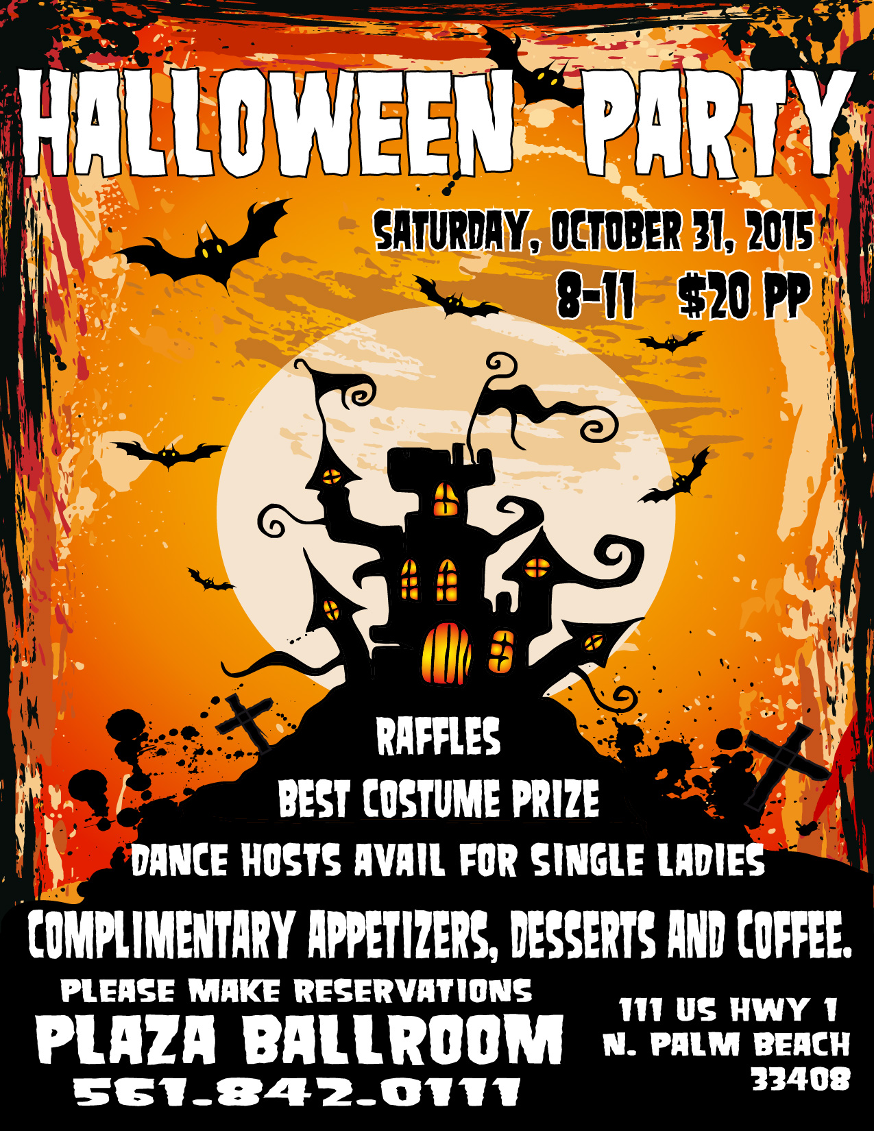 halloween costume party – the plaza ballroom